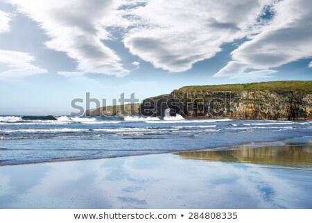 ballybunion beach on the wild atlantic way Stock photo © morrbyte