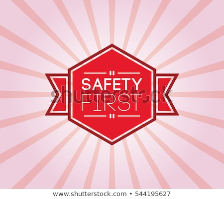 seguridad · primero · símbolo · signo · verde · medicina - foto stock © stevanovicigor