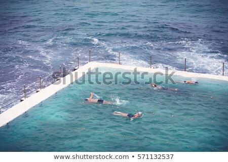 Tidal Swimming Pool Stock photo © dirkr