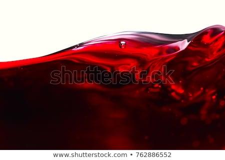 zarif · cam · şişe · karanlık · üzüm - stok fotoğraf © -baks-