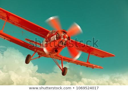 Repülőgép propeller légy gép motor Stock fotó © JamiRae