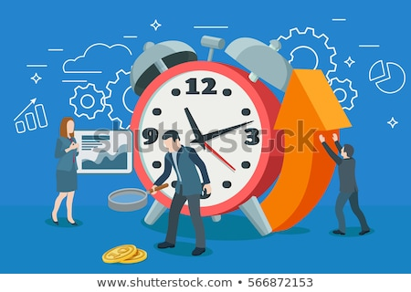 Flat Style Design Concepts for business strategy and career stock photo © DavidArts