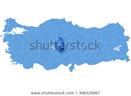 Map of Turkey, Nevsehir Stock photo © Istanbul2009