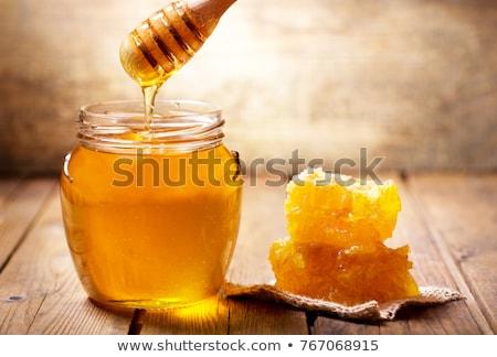 miele · a · nido · d'ape · prodotti · texture · alimentare · medici - foto d'archivio © jordanrusev