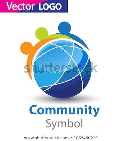 Animal planet Logo Symbol For Your Design Stock photo © netkov1