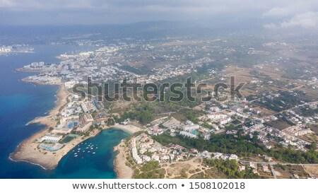 Panorama of Sant Antoni town. Ibiza Stock photo © amok