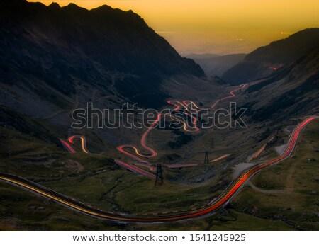 night highway Stock photo © tracer