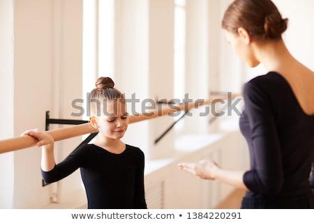 Menina balé quente para cima sorrir Foto stock © fotoedu