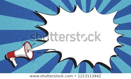 éber · üzenet · kommunikáció · buborék · illusztráció · számítógép - stock fotó © ivelin