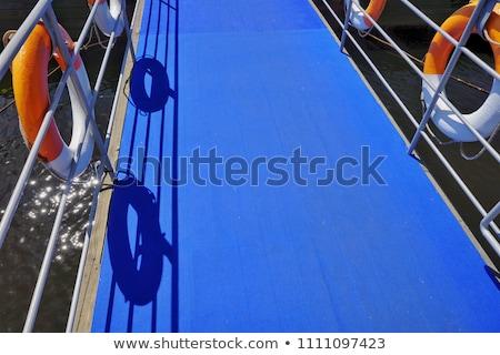 négy · színes · hidak · illusztráció · fehér · utca - stock fotó © bluering