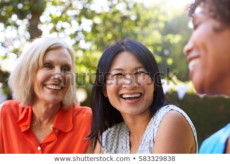 Attractive middle-aged female gardener Stock photo © ozgur