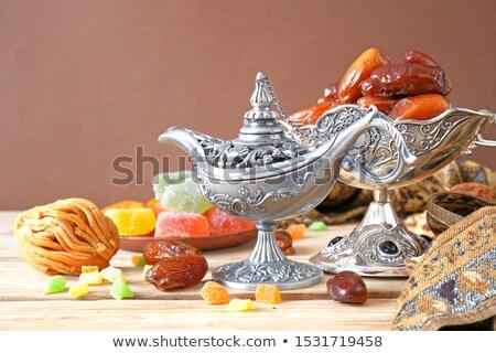 турецкий · десерта · белый · обед - Сток-фото © m-studio