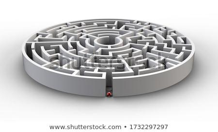yol · seçim · yalıtılmış · 3D · görüntü · hukuk - stok fotoğraf © ISerg