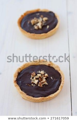 mini · csokoládés · sütemény · stúdiófelvétel · étel · torta · édes - stock fotó © digifoodstock