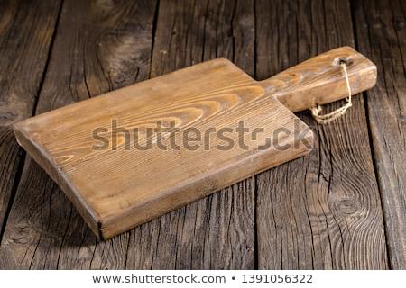 sajt · konyha · vágódeszka · étel · vacsora · vidék - stock fotó © digifoodstock