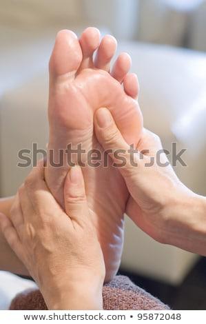Geleneksel ayaklar spa erkekler bacaklar Tayland Stok fotoğraf © bank215