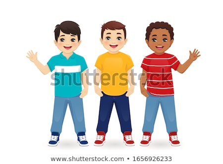 Three little boys Stock photo © bluering