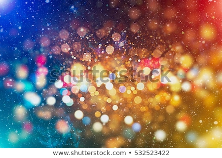 Colorful garland lights background Stock photo © Alex9500