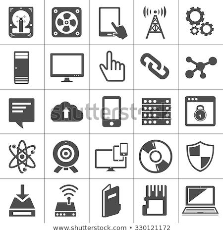 Dispositivos vetor ícones tecnologia telefone comprimido Foto stock © Said