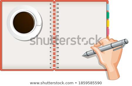 калькулятор · clipart · изображение · прибыль · на · акцию · технологий · клавиатура - Сток-фото © vectorworks51