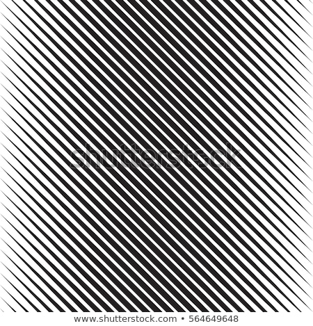 Vector Seamless Black and White Halftone Diagonal Stripes Pattern Stock photo © CreatorsClub
