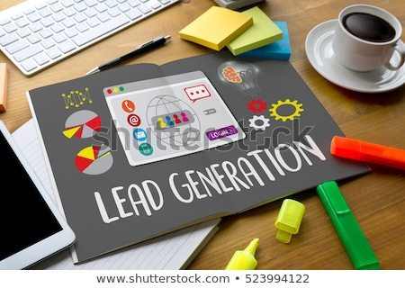 Lead Generation Arrows Concept Stock photo © ivelin