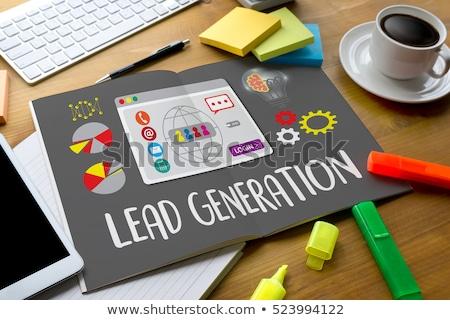lead generation arrows concept stock photo © ivelin