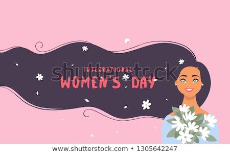 International womans day. EPS 10 Stock photo © beholdereye