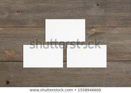 trio business card 1 Stock photo © VadimSoloviev