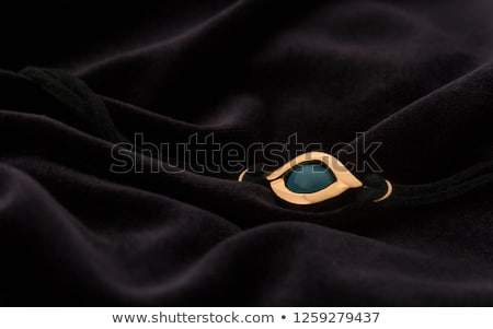 Jewelry with turquoise on a dark background Stock photo © blackmoon979