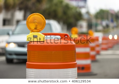 Stockfoto: Snelweg · wegenbouw · landschap · snelweg · zonnige · zomer