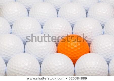 белый оранжевый гольф окна открытых Сток-фото © CaptureLight