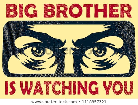 Big Brother Concept Stock photo © Lightsource