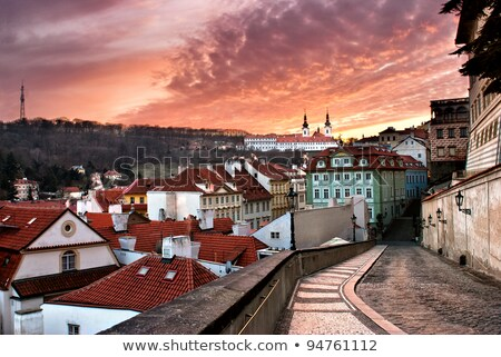 rooftops of old prague czech republic stock photo © kirill_m