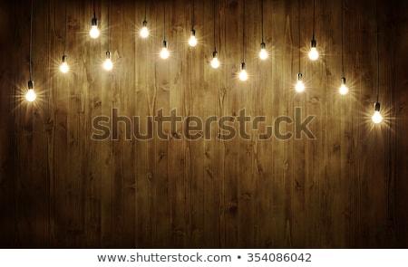 лампы сарай грязные старые веб Сток-фото © Kotenko