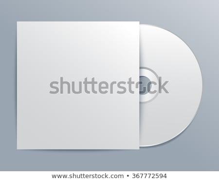 cd · couvrir · isolé · blanche · ordinateur · musique - photo stock © sarts