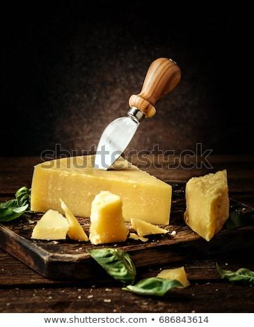 Parmesan peyniri sebze taze ahşap gıda Stok fotoğraf © Digifoodstock
