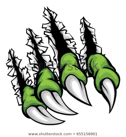 Monster Claws Graphic Stock photo © Krisdog