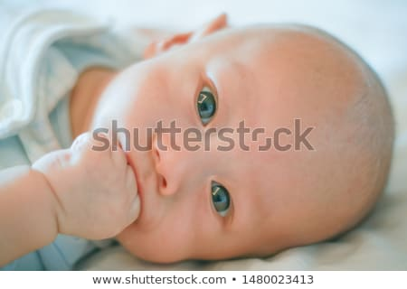 szczęśliwy · mały · baby · chłopca · dziewczyna · domu - zdjęcia stock © dolgachov