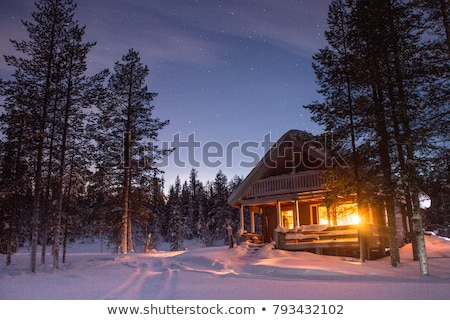Winter Cabin Stock photo © UPimages