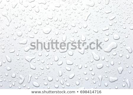 Wassertropfen Metall niemand horizontal Stock foto © IS2