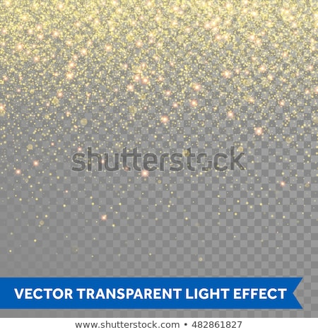 golden glitter vector transparent background stock photo © SArts