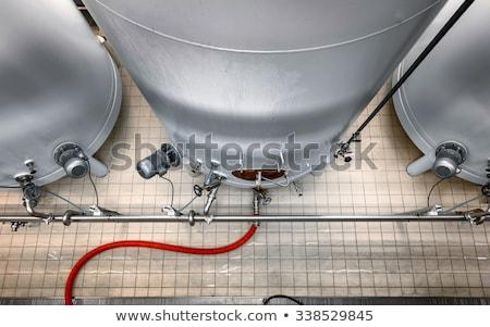 interior · cervejaria · equipamento · fabrico · cerveja · beber - foto stock © dashapetrenko