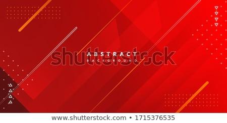 Technológia absztrakt piros üzlet világ háttér Stock fotó © alexaldo