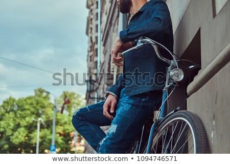 Rower ściany Zdjęcia stock © IS2