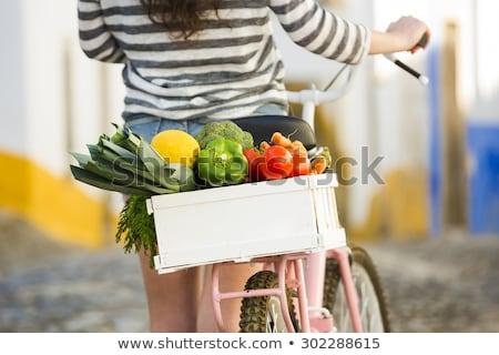 Fruits and vegetables market. Portugal Stock photo © joyr