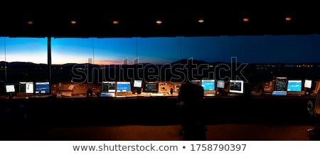 制御 塔 アメリカン 空港 旅行 飛行機 ストックフォト © craig