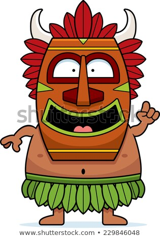 cartoon witch doctor idea stock photo © cthoman