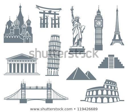 Torre Big Ben Itália inglaterra teia Foto stock © robuart