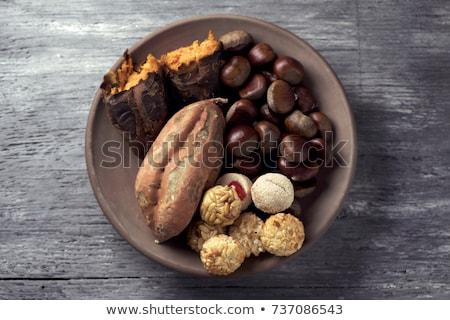 サツマイモ 表示 甘い ストックフォト © nito